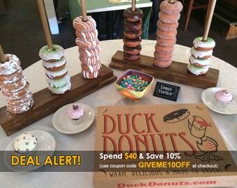 Donut Stands For Donut & Breakfast Bars - BEST SELLER!