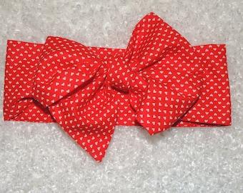 Valentine Sweetheart Head Wrap