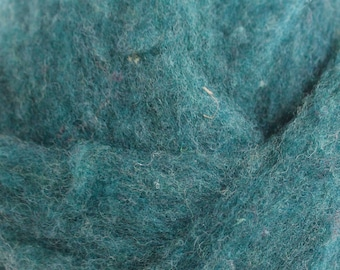 Polypay Wool Roving for Spinning -- Spruce