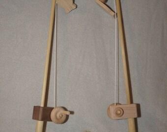 Organic Wooden Toy Fishing Pole