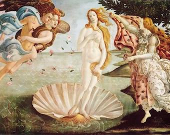 Botticelli The Birth Of Venus  poster print 24 x 36