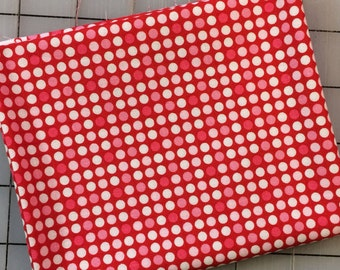 Riley Blake Christmas Basics - FAT QUARTER cut of Dot in Red - C920-02