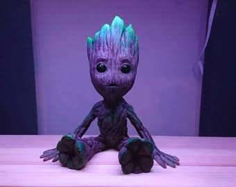 50% off 3D printed and hand painted Baby Groot. Finishes bank holiday weekend.