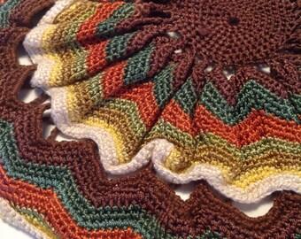 Handmade round pillowcase