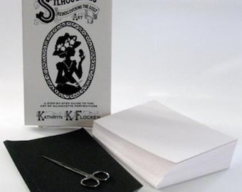 Silhouettes: Rediscovering the Lost Art - How To Cut Silhouettes Beginner Kit