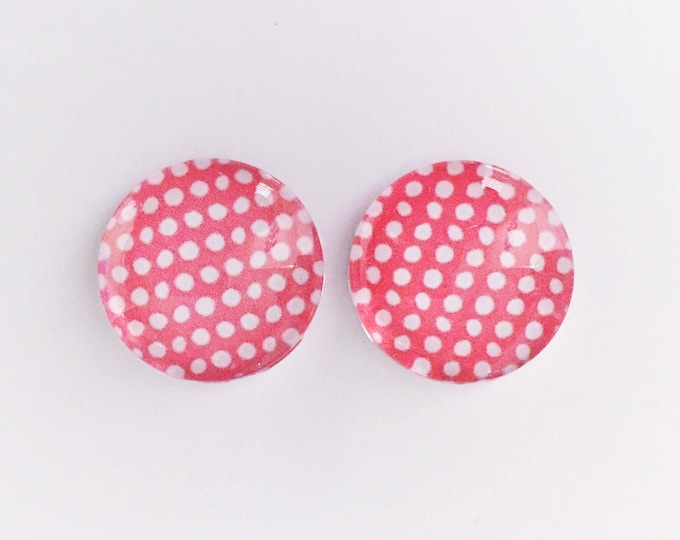 The 'Jenny' Glass Earring Studs