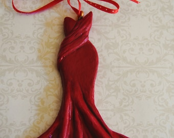 Red Dress Ornaments, Wall Hangings, Collectables