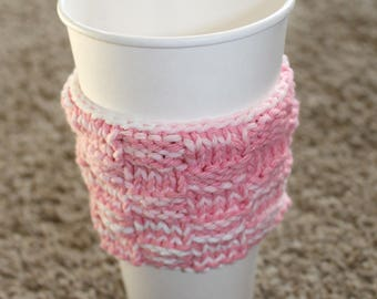 Coffee Holder in shades of pink