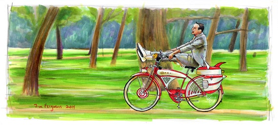 Pee-Wee's Big Adventure -  I'm a Loner, Dottie. A Rebel Poster Print
