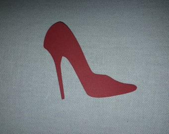 High Heel Paper Cut-outs