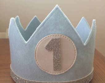 """Crown """"your first birthday"""""""