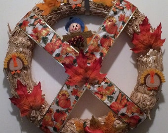 All Give Thanks Wreath
