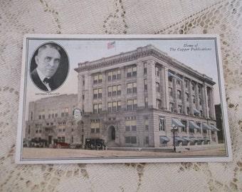 Arthur Capper Publications Photo Post Card