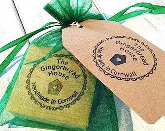 Logo and Text Only Rubber Stamps