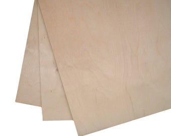 High Quality Birch Plywood 1200mm x 300mm (Plug Free One Side)