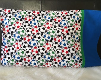 Soccer/Pillowcase/Pillowcasesforcancer/Childhood Cancer Donation with each purchase!