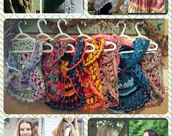 Mandala Wearables Ebook PDF Crochet Patterns 5 Pattern Deal