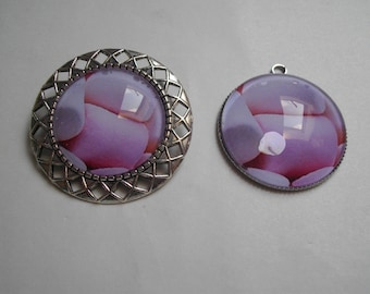 set 2 piece brooch and pendant