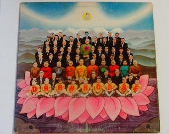 "George Harrison - Dark Horse with poster - ""Bye Bye Love"" - ""Maya Love"" - EMI Original Release 1974 - Vintage Gatefold Vinyl LP Record Album"