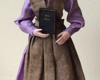 Reserved for Lucy Marcia Backstrom Amish Lady Doll OOAK