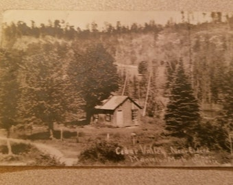 Vintage Postcard RPPC Cedar Valley Mancelona Michigan 1910 Stamp