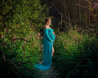 Azora Gown - Maternity Gown