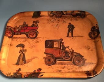 Vintage Tray . Barware display