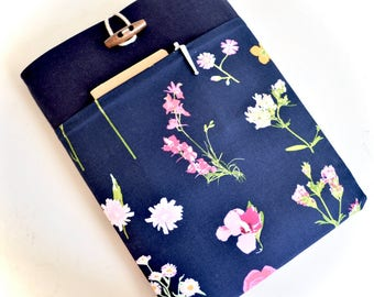 Floral Laptop Sleeve Laptop Bag Computer Case Surface Laptop Case Dell Laptop Sleeve Lenovo Yoga Case - Whimsical Flowers