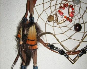 Boho Dreamcatcher  Bohemian Style handmade by dreamcatcherman--------------