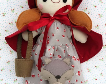 Red Riding Hood & Wolfie Pattern