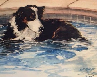 "Custom Pet Portraits 8""X10"": ""Jake"""