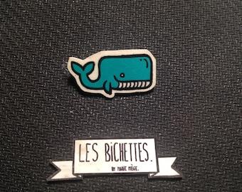 Whale pin