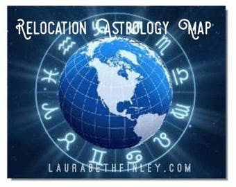 Relocation Astrology Map