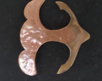 Brass and Copper Pin