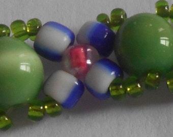 Vintage Handmade Beads Bracelet