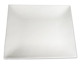 Handpainted RETANGLE COUPE Platter - Painted according to your specifications