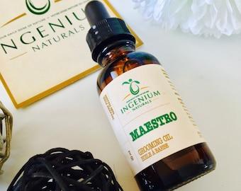 All Natural Grooming Beard Oil // For men