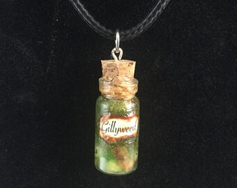 Gillyweed Bottle Charm Necklace