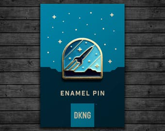 Rocketeer Enamel Pin