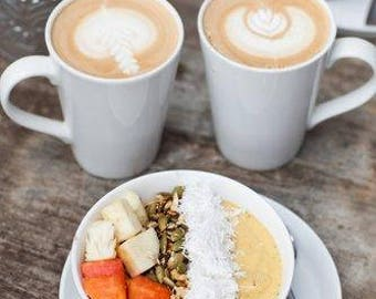 Noix de coco citrouille Latte café charbon petit 1 pouce encens cônes très parfumée 10 Pack ~ fait à la main ~ aromathérapie