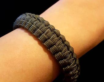 SKINNY Paracord Survival Bracelet