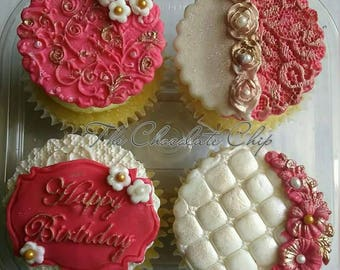 Edible Birthday toppers