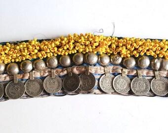 Afghani Arm Band/Kuchi Gypsy Upper Arm Cuff: Vintage ATS, Tribal & Fusion Belly Dance Jewellery. Bracelet