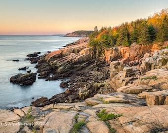 Maine Coastal Photograph - Acadia National Park