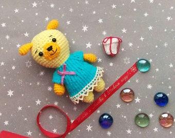 crochet dog handmade toys dog amigurumi