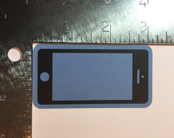 iPhone die cut - pick your color