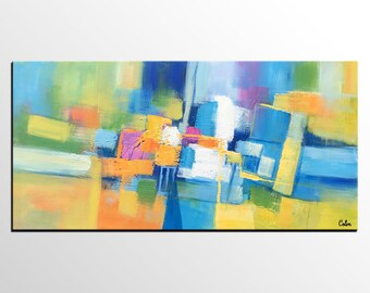 Abstract Art Painting, Original Painting, Bedroom Wall Art, Modern Wall Art, Canvas Art, Large Art Painting, Abstract Art, Acrylic Painting