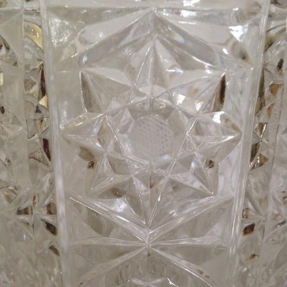 Czech Cut Lead Crystal Ice Bucket