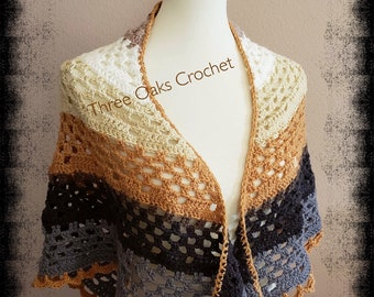 Summer Shawl in Brownie