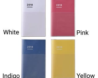 Kokuyo Jibun Techo 2018 Diary A5 Slim (November Start)